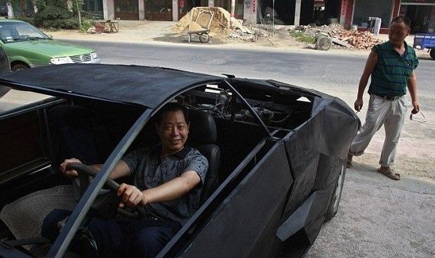 В Китае изготовили копию Lamborghini из металлолома. Изображение № 2.