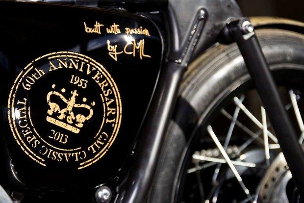 Итальянская мастерская Centro Modo Lodi представила «королевский» кастом модели Triumph Thruxton. Изображение № 15.