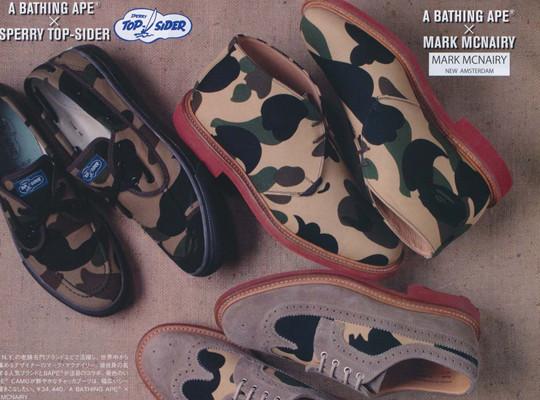 Коллекция обуви Марка МакНэйри, Sperry Top-Sider и марки Bape. Изображение № 1.