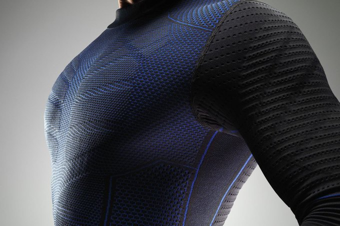 Nike начнут выпускать новое термобелье Hyperwarm Flex. Изображение № 3.
