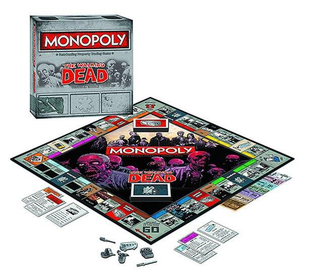 Вышла новая зомби-версия настольной игры «Монополия». Изображение № 2.