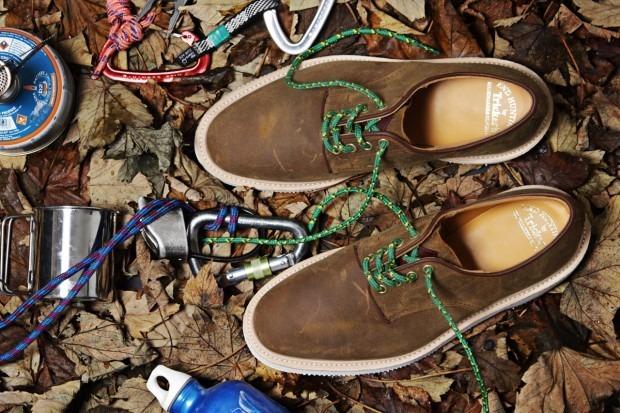 Марка Tricker's и магазин End Hunting Co выпустили совместную коллекцию обуви. Изображение № 1.
