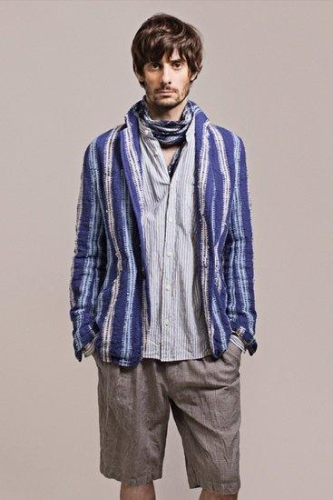 Японская марка ts(s) выпустила лукбук весенней коллекции одежды. Изображение № 6.