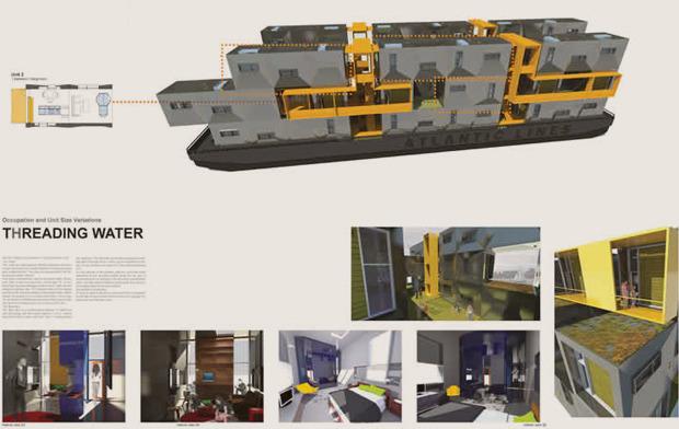 На коробке: Корабельные контейнеры как жилье на случай катастрофы. Изображение № 4.