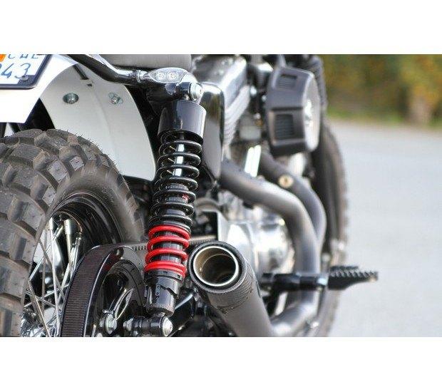 Мастерская Burly Brand представила скрэмблер на основе Harley-Davidson Sportster. Изображение № 3.