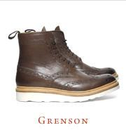 Хайкеры, высокие броги и другие зимние ботинки в интернет-магазинах. Изображение № 24.