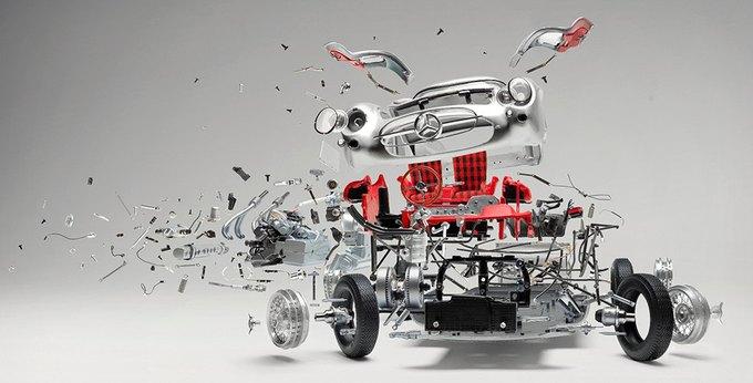 Швейцарский фотограф показал застывшие взрывы машин. Изображение № 1.