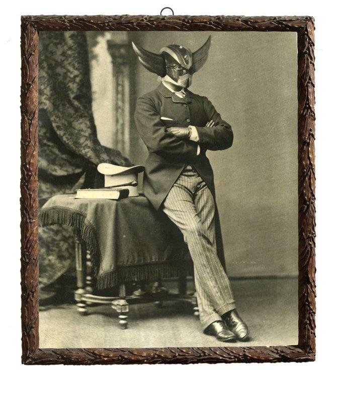 Foto Marvellini: Винтажный фотоальбом супергероев. Изображение № 8.