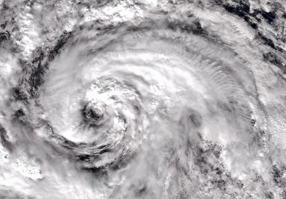 Фотографии урагана Сэнди, вид из космоса. Изображение № 8.