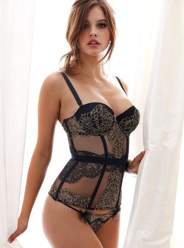 Модели Барбара Палвин и Даутцен Крус снялись в рекламе нижнего белья Victoria's Secret. Изображение № 2.
