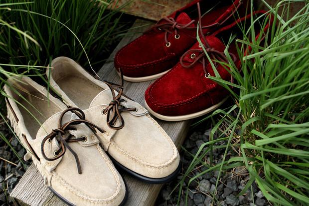 Дизайнер Ронни Фиг и марка Sebago выпустили капсульную коллекцию обуви. Изображение № 1.