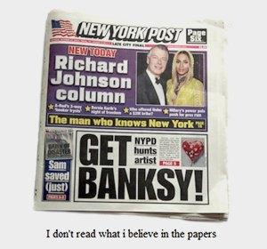 Бэнкси в Нью-Йорке: Как британский художник захватил столицу граффити. Изображение № 1.