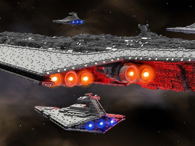 Корабль Дарта Вейдера из кубиков LEGO финансируется через Kickstarter. Изображение № 1.