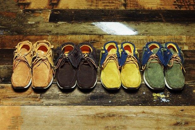 Марка Visvim анонсировала новую коллекцию одежды и обуви. Изображение № 1.