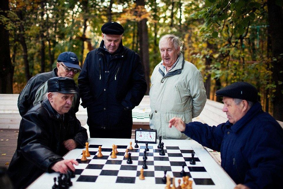 Олд бой: Как старики уделали меня в шахматном сражении. Изображение № 1.