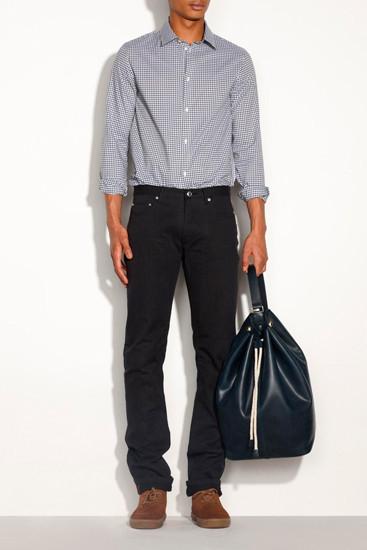 Марка A.P.C. опубликовала лукбук новой коллекции одежды. Изображение № 5.