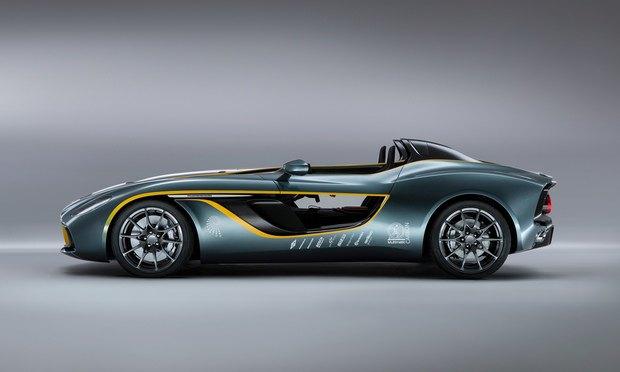 Aston Martin представил юбилейный спидстер CC100. Изображение № 5.