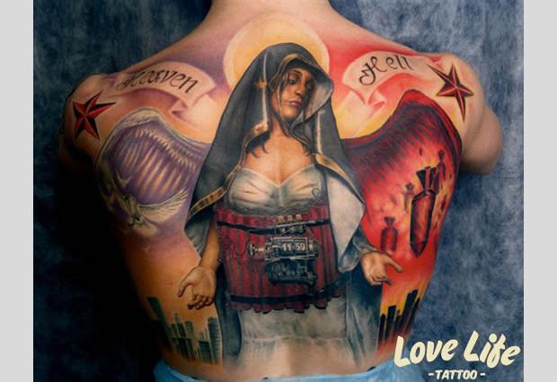 Избранные работы студии Love Life Tattoo. Изображение № 24.