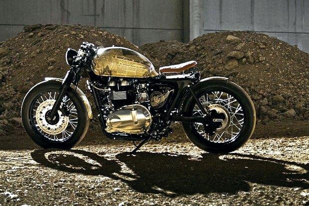 Итальянская мастерская Centro Modo Lodi представила «королевский» кастом модели Triumph Thruxton. Изображение № 26.
