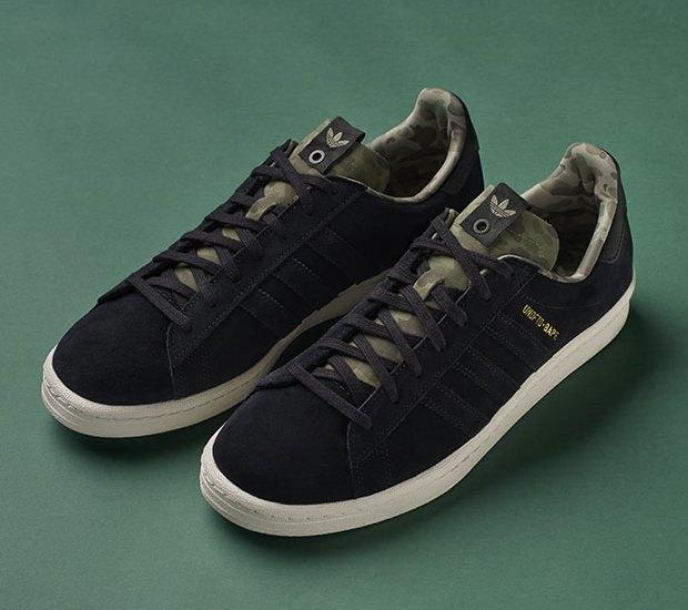 Марки A Bathing Ape, Undefeated и Adidas Originals представили совместную коллекцию кроссовок. Изображение № 1.