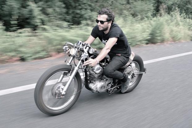 Испанская мастерская El Solitario изготовила мотоцикл Winning Loser. Изображение № 23.
