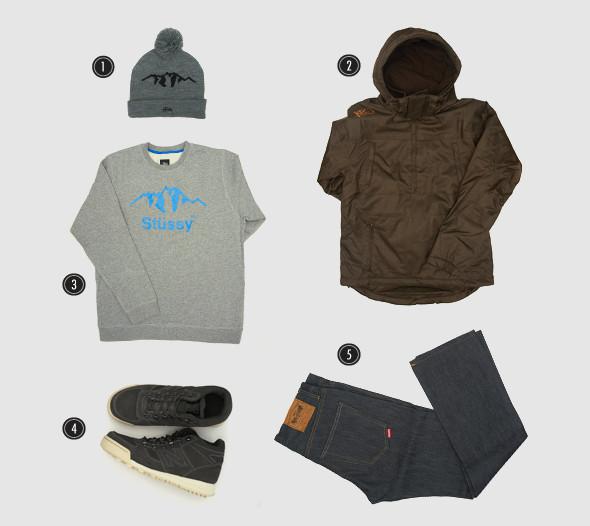 Соберись, тряпка: 3 зимних лука магазина Sneakerhead. Изображение № 4.