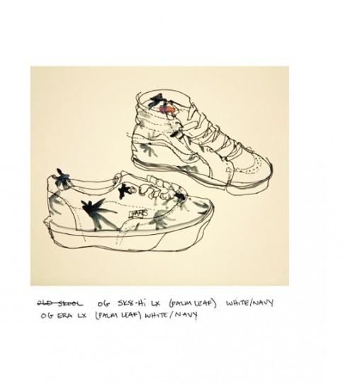 Иллюстрированный лукбук весенней коллекции марки Vans Vault. Изображение № 13.