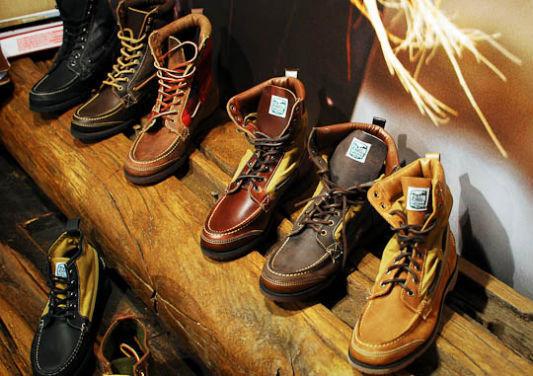 Совместная коллекция обуви марок Sebago, Filson и Woolrich. Изображение № 1.