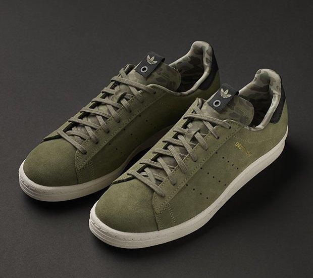 Марки A Bathing Ape, Undefeated и Adidas Originals представили совместную коллекцию кроссовок. Изображение № 2.