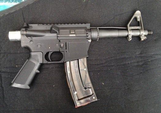 Самозарядная винтовка AR-15 с распечатанной нижней частью ствольной коробки. Изображение № 1.