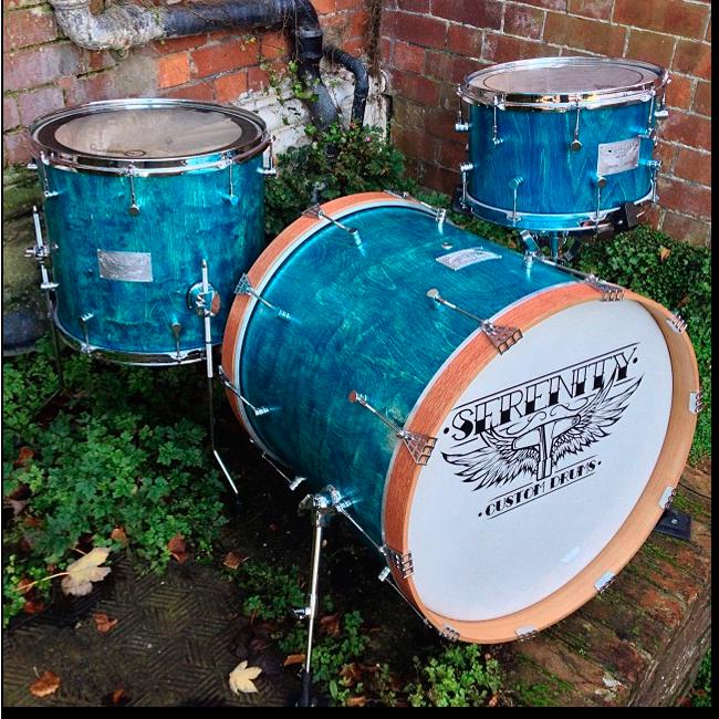 Ручная работа: Барабанная установка Serenity Custom Drums. Изображение № 1.