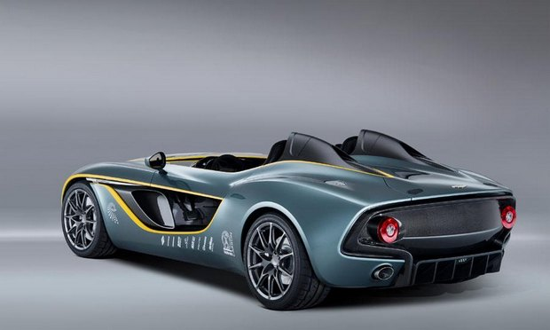 Aston Martin представил юбилейный спидстер CC100. Изображение № 4.