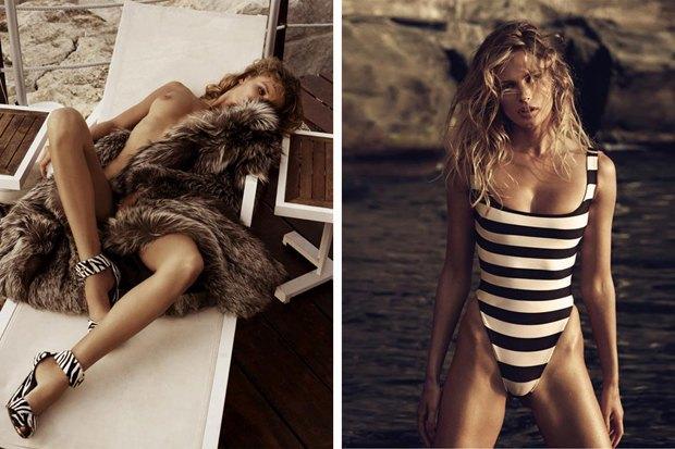 Модель Эдита Вилкевичуте снялась для эротического журнала Lui Magazine. Изображение № 3.