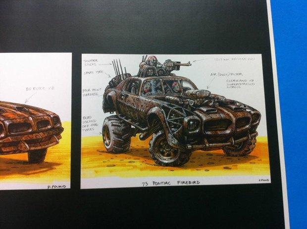 Опубликованы первые концепт-арты фильма «Безумный Макс: Дорога ярости». Изображение № 5.