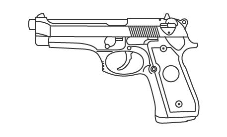 Пистолет кольт в истории американской армии, кино и масс-медиа. Изображение № 12.