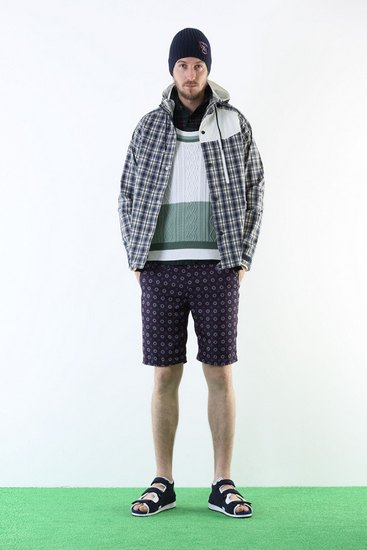 Японская марка White Mountaineering выпустила лукбук весенней коллекции одежды. Изображение № 4.