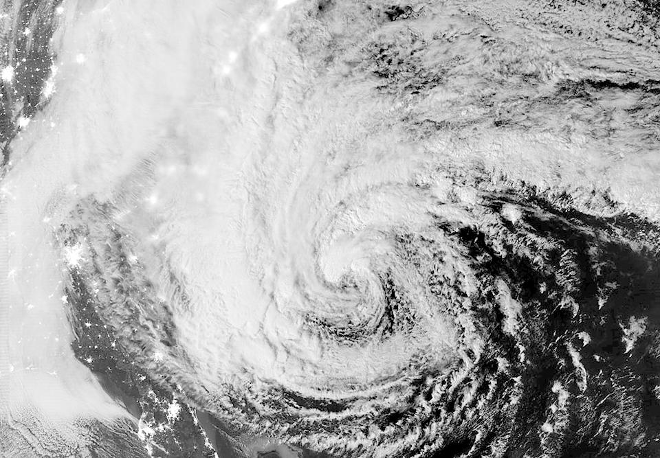 Фотографии урагана Сэнди, вид из космоса. Изображение № 7.