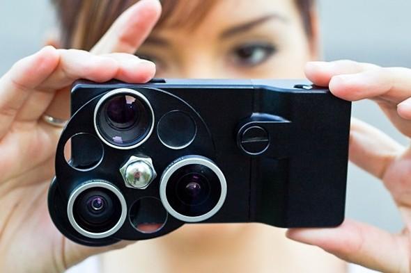 Корпус для iPhone с тремя фотообъективами. Изображение № 6.