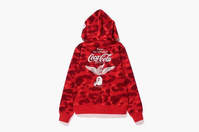 Марка Bape представила коллаборацию с Coca-Cola. Изображение № 3.