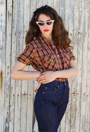 Марка Levi's Vintage Clothing опубликовала лукбук весенней коллекции одежды. Изображение № 25.
