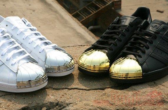 Adidas Originals выпустила кроссовки Superstar 80s с металлическими мысками. Изображение № 8.