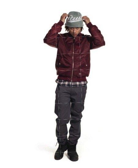 Марка Stussy выпустила осенний лукбук с участием рэпера A$AP Illz. Изображение № 2.
