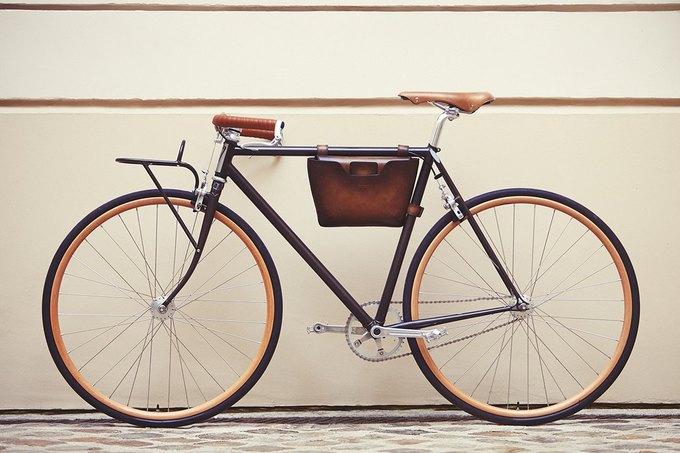 Велофирма Cycles Victoire в сотрудничестве с Berluti представила новый велосипед. Изображение № 1.