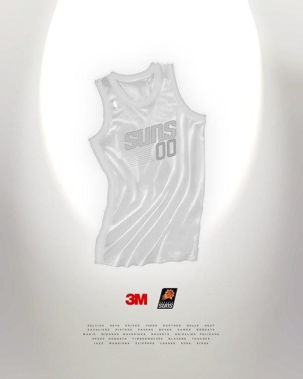 Канадский дизайнер представил, как бы выглядела форма NBA в исполнении культовых брендов. Изображение № 11.