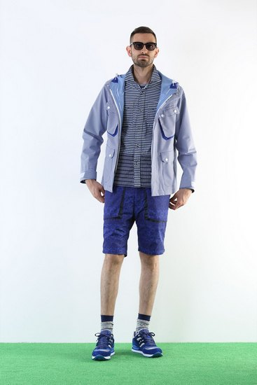Японская марка White Mountaineering выпустила лукбук весенней коллекции одежды. Изображение № 2.