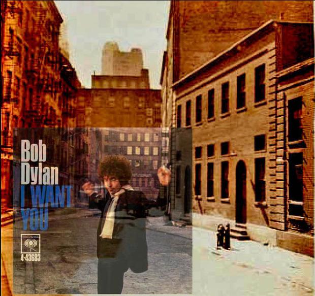 Американский фотограф наложил обложки известных альбомов на современные виды Нью-Йорка. Изображение № 3.