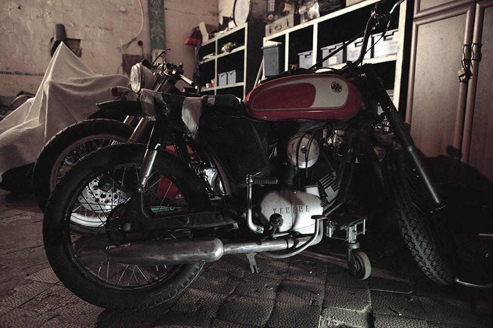 Болгарка, молоток и сварка: Интервью с  Глебом Чёрным, владельцем кастом-ателье мотоциклов . Изображение № 22.