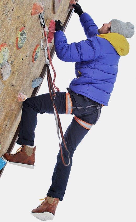 Горностайл: Профессиональный альпинист тестирует аутдор-одежду. Изображение № 16.