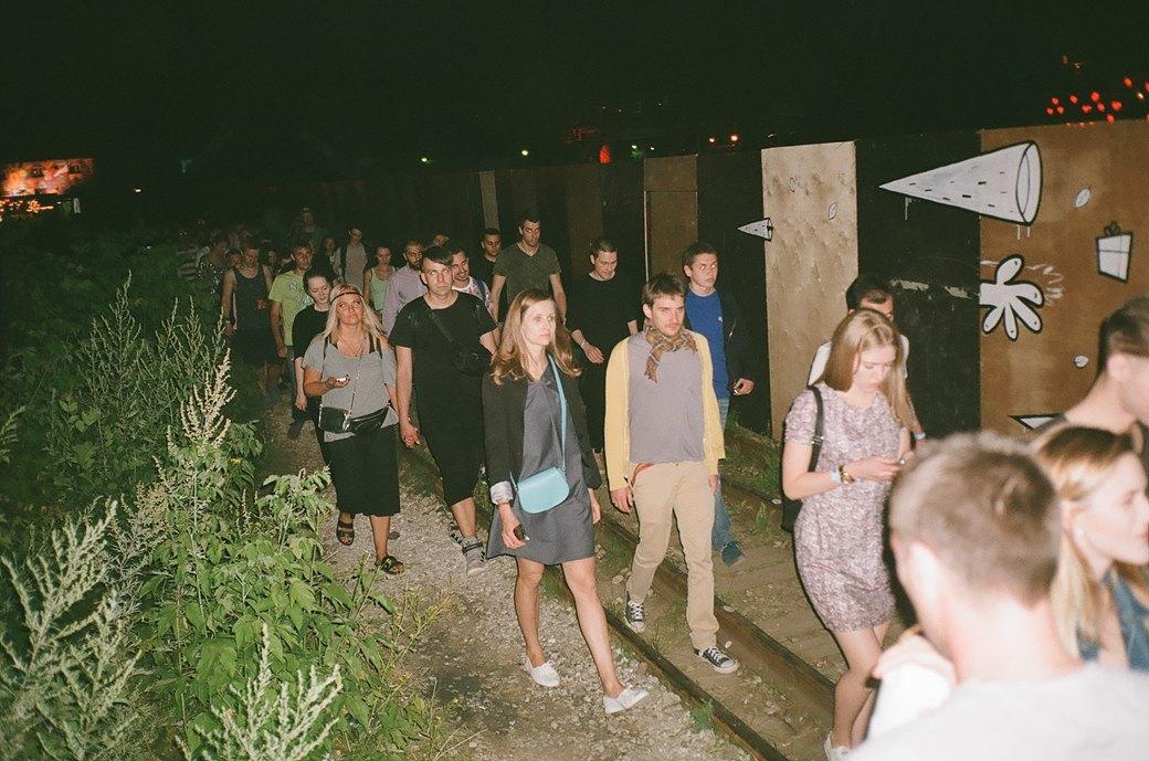 Фоторепортаж: Фестиваль Outline на Карачаровском механическом заводе. Изображение № 7.