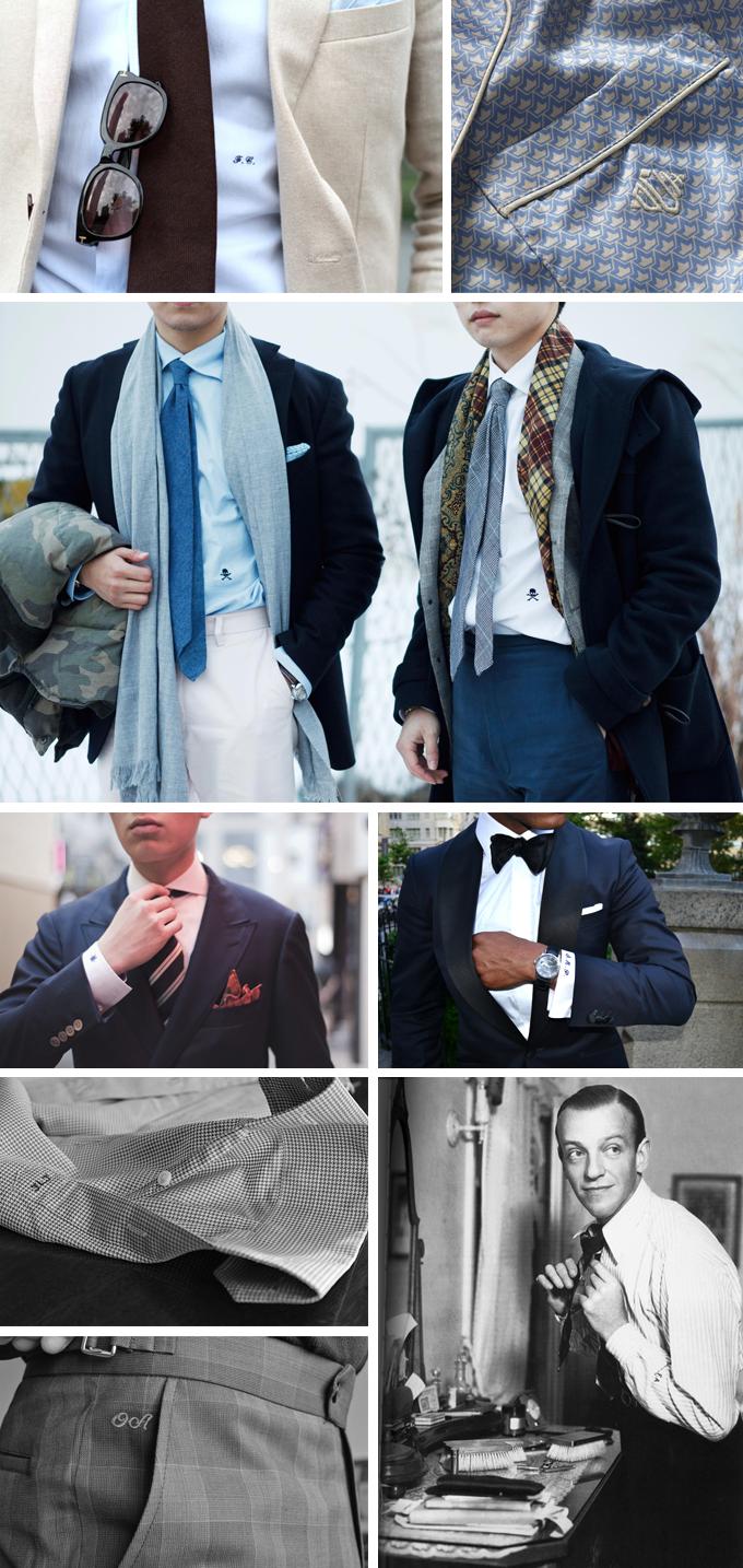Все, что нужно знать о монограммах на мужской одежде . Изображение № 9.
